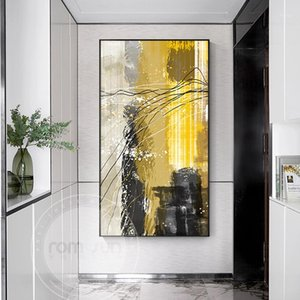 Abstract Color Blocks Canvas Pittura Nordic Style Acquerello Poster e stampa Arredamento moda per soggiorno HD Wall Art Decor1