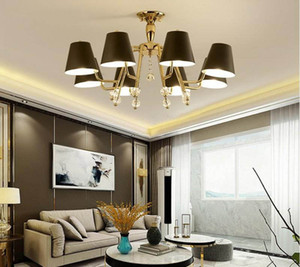 Post Modern Pendant lamp contracted Nordic Wind Lamps Atmospheric Sitting Room Lamp Black Dining Room Chandelier