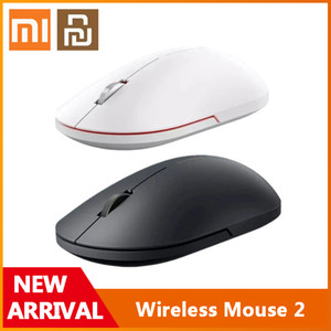 Original Xiaomi Youpin Wireless Mouse 2 2.4GHz 1000dpi Game Mice Optical Mouse Mini Ergonomic Portable Mouse