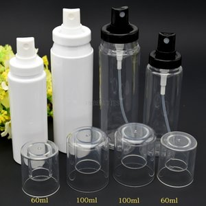 60ml 100ml 120ml Clear White PP Perfume Mist Spray Bottles Empty Plastic Atomizer Sprayer Containers 500pcs Lot