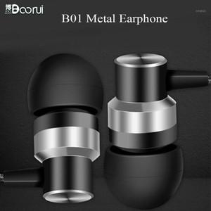 Boorui Estéreo Auriculares B01 Auriculares de Bass Estéreo 3.5mm Enchufe de manos libres para teléfonos inteligentes1