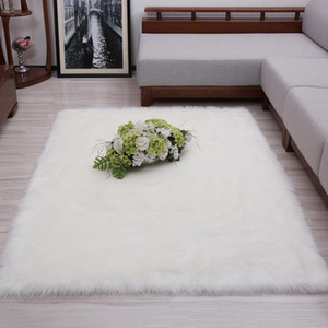 Thick Carpet for Living Room Children Bed Room Fluffy Floor Carpets Window Bedside Water Absorb Anti-slip Floor Mat Area Rug