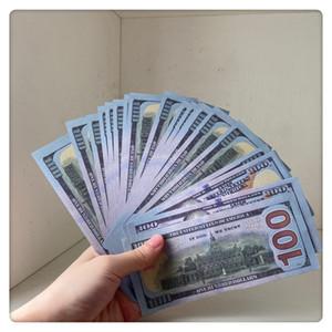 Jogo grátis Jogar Dinheiro Falso 20 Notas Prop Findend UK Filme Dinheiro Papel Cópia Cédula Prop Money 100pcs / Pack