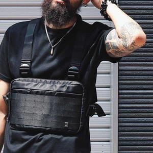 Chest Rig Vest HipHop Streetwear Functional Chest Bag for Men Shoulder Bag Adjustable Tactical Streetwear Bags Kanye Waist Packs