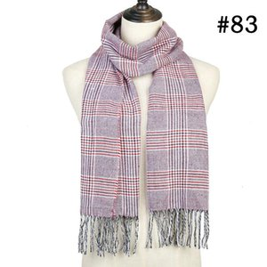 2019 Hot Sale Plaid Cashmere Women Scarf Winter Warm Shawl And Wraps Bandana Pashmina Soft Long Tassel Female Foulard Bufandas wmtOVc