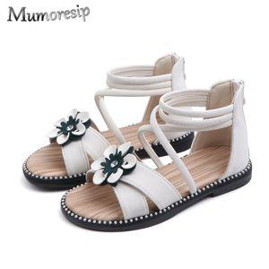 Mumoresip Girls Gladiator Sandals Sandali principessa Sweet Bowtie Beach Scarpe per Big Kids Soft Chic Studenti Chic Alunni Sandali per bambini J1211