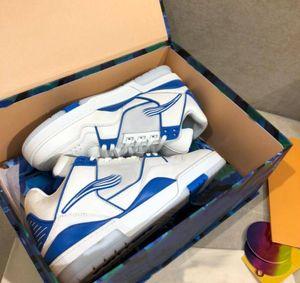 2020 Erkekler Spor Ayakkabı Trainer Sneakers TPU Kombinasyonu Büyük Taban Deri Yastıklı Ayak Örgü Astar Rahat Ayakkabılar Boyutu 39-45 A5