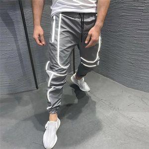 Homens Esportes Correndo Calças Zipper Athletic Soccer Pant Treinamento Calças Esporte Elasticidade Legging Jogging Gym Calças1