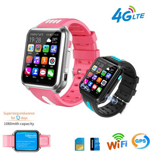 4G Smart GPS Wifi Location Video Call Student Kid Phone Watch Android System Clock App Install Remote Camera Smartwatch SIM Card