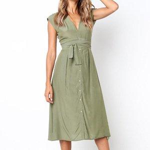 Vintage stripe drucken midi kleid frauen elegante tiefe v sash bindung bodycon kleider weibliche sommer streetwear sommerkleidung 2021