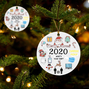 Grinch Christmas Ornament 2020 Engraved Wood 2020 Events Rustic Christmas Ornaments for 2020 Ornaments For Tree Decorations fast ship