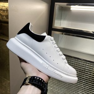 2021 Top Casual Shoes Womens Mens Trainer Shoes White Leather Platform Shoes Flat Chaussures De Sport Zapatillas Shoede Shoes