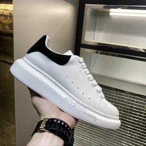2021 أعلى عارضة الأحذية النسائية رجل المدربين الأبيض منصة الجلود الأحذية شقة chaussures دي سبورت zapatillas شمواه الأحذية