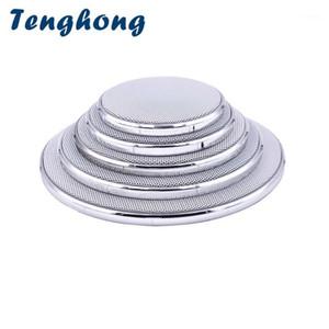 Tenghong 2pcs 2 3 4 5 6.5 Inch Speaker Net Cover Mesh Enclosure Speakers Plastic Frame Wire Grilles Speaker Accessories Repair1