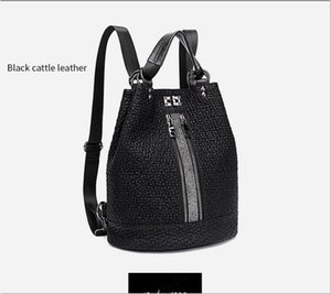 Women's bags 2020 new fashion sequin leather shoulder bag female personality lock anti-theft large capacity travel backpack