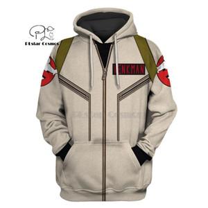 PLstar Cosmos Ghostbusters venkman hero Apparel 3d hoodies Sweatshirt Winter autumn funny Harajuku Long sleeve streetwear C1118