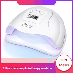 110W Maniküre Machine UV LED Lampe Schnelltrocknung Maniküre Lampe Sun X5Plus Induktion Nagel Backlampe Trocknungsmaschine