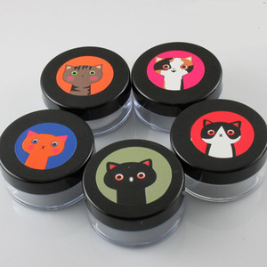 300pcs Empty 8g 10g Makeup Case Loose Powder Jar Travel Containers Compact With The Sifter& Lid PP Box maquiage machine