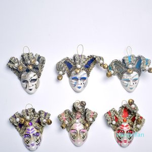 Creative For Venice Tourism Gift 3D PVC Mask Refrigerator Stickers Magnetic Stickers Souvenir European Decorative Pendant