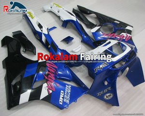ZX6R 1997 carent per Kawasaki Ninja ZX 6R Blue White 94 95 96 97 ZX6R ZX-6R 1994 1995 1996 1997 Kit carenatura ABS