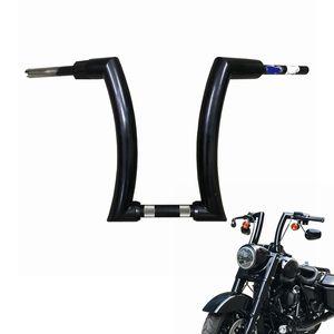 "Motocicleta 14 ""Bar manillares 2 pulgadas para Dyna Softail Fat Boy Bob Breakout Slim Deluxe Touring"