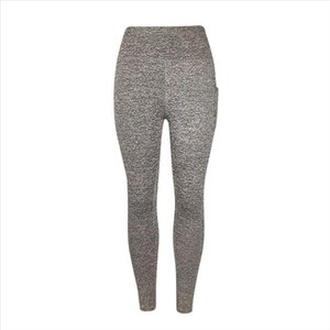 Solid Leggings Women Workout Out Pocket Leggings Fitness Sports Running Athletic Pants Jeggings Female Push Up
