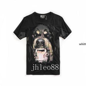 2020 Men &#039 ;S Short -Sleeved T -Shirt Women &#039 ;S Wholesale Dog Head Loose Cotton Youth Shirt Lovers T -Shirt J