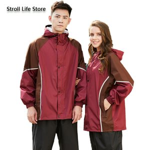 Women Suits Men Gift Riding Waterproof Motorcycle Rain Poncho Raincoat Jacket Adult Coat Mens Sports Set Pants Tkfqe