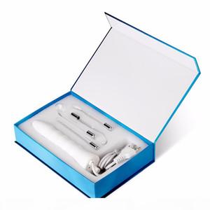 4 in 1 tragbare Hochfrequenzelektrode Zauberstab Elektrotherapieglasschlauch Schönheitsgerät Spot Remover Gesichts-Hautpflege-Spa.