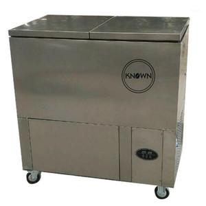 Коммерческая из нержавеющей стали Popsicle формы двухместный компрессор эскимо мороженого машины / Popsicle Part Machine1