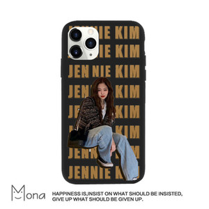 Trend of sell like hot cakes Jennie Kim Mobile Phone Case For Iphone12Mini Case with transparent soft shell