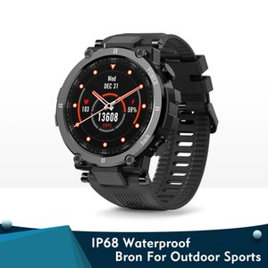 Raptor Outdoor Sport Watch Rugged Bluetooth Full Touch Smart Watch Ip68 Waterproof Tracker Fashion Smartwatch For Men