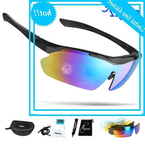 Copozz Polarized bicycles Glass Outdoor Mtb Mountain Goggles Eyewear Bikes Sport Sunglasses Special feature 5 Lens
