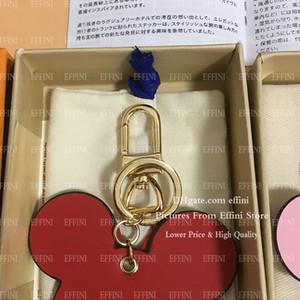 Kostenlose Box Luxurys Designer Leder Keychain Mode Nette Schlüsselanhänger Frauen Schlüsselanhänger Schlüsselanhänger Brieftasche Tasche Charme Schlüsselanhänger Llavero Portachiavi