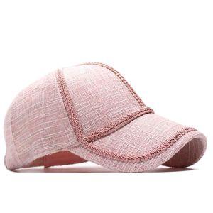 Yeni Dantel Bayanlar Açık Trendy Beyzbol Kasketleri Kap Moda Kafes Sıcak Kadın Tasarımcılar Şapka 2021 Pom Pom Şapka Kadın Luxurys des