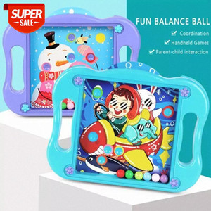 Children's Board Games Toys Children Ball Moving 3D Maze Puzzle Toys Kids Table Balance Ball Educational Kids Birthday Gift #es37
