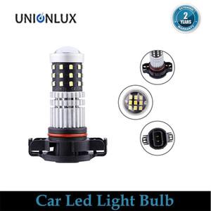 2pcs High Power White LED 39 SMD 5202 H16 PS24W LED Bulbs Fog Lights Running Lights For Car 6000K