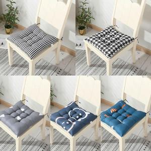 40 * 40 cm cuscino sedile sulla sedia Cuscino del pavimento in cotone Ufficio sedile sedentario cuscino sedile sedentario sgabello invernale pastiglie soft culo divano home decor fwf3497