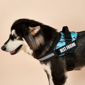 Camo series explosion-proof chest strap for medium - sized dog pet