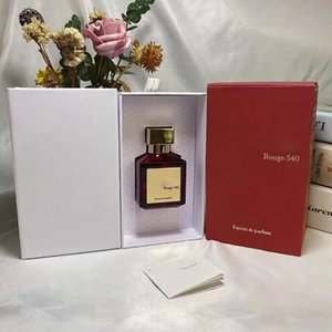 Noble ladies perfume high quality long lasting fragrance fresh high-end Baccarat Rouge 540 female perfume EDP 70ML fast shipping and free sh