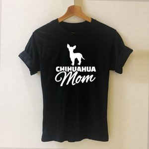 Chihuahua Mom Harajuku T Shirt Funny T shirt Women Clothing Casual Short Sleeve Tops Tees Plus Size