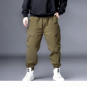 Plus 7XL 6XL XXXXXL Men Hip Hop Black Cargo Pants joggers Sweatpants Overalls Men Streetwear Harem Pants Women Fashions Trousers