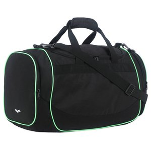 MIER 24 Inch Gym Bag Sports Duffel Bag with Shoe Compartment for Men, Black Z1121
