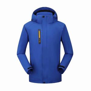 Добавить одежду шерстяной одежды Пользовательские печати логотип Пальто инструмента для одежды класса свитера плюс бархатный альпинизм водонепроницаемый рабочая одежда на заказ