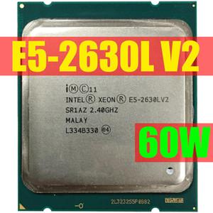 Intel Xeon Processor E5 2630L V2 CPU 2.4GHZ LGA2011 Six Core Server processor e5-2630L V2 E5-2630LV2 100% normal work