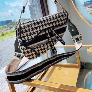 2020 Venta caliente Tendencia de alta calidad Monedero Bordado de moda Bolsa de silla de montar Bags Bolsa de Messenger Bolsa de Mensajero Bolso de Lujo Bolso de Lujo