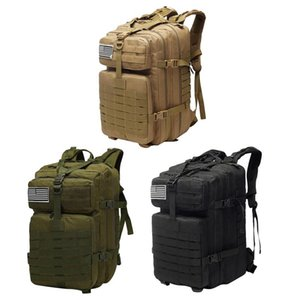 50L Large Capacity Men Army Tactical Backpacks Assault Bags Outdoor Molle Pack For Trekking Camping Hunting Bag