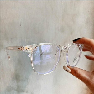 2020 Anti Blue Light Glasses Frame Women's Eyeglass Frame Computer Eyeglasses Vintage Men Spectacles Transparent Frames