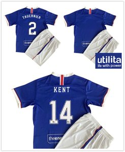 20 21 McGREGOR MCLAUGHLIN GERRARD Kids kit Soccer Jerseys FIRTH WRIGHT Home Football Shirt GOLDSON KENT MORELOS HAGI Child Short Sleeves