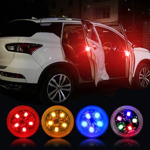 10pcs Universal LED Car Opening Door Safety Warning Anti-collision Lights Magnetic Sensor Strobe Flashing Alarm Lights Parking Lamp